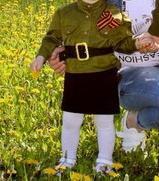 Военный костюм на девочку