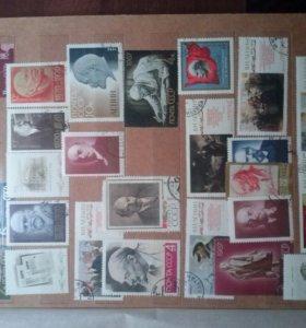 Коллекция марок ( отдельно, без альбома)