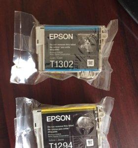 Новые картриджи для Epson