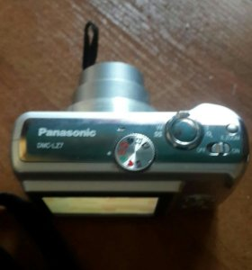 цифровой фотоапарат+чехол panasonik