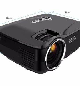 Портотивный проектор с Bluetooth, WiFi, Android,TV