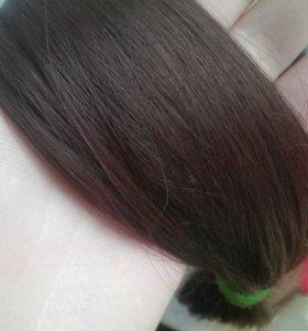 Искуственные волосы.