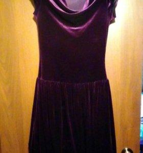 Платье 46р вельвет