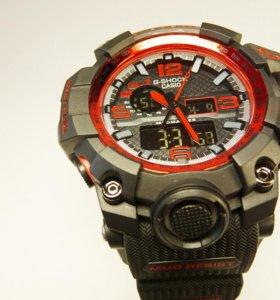 Мужские часы G-shock красного цвета