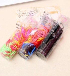 Резиночки для причёсок и плетения