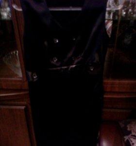 Чёрный атлас платье звонить 89094885024