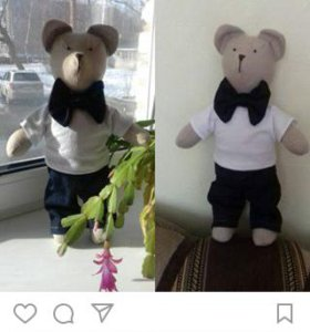 Мишка тильда