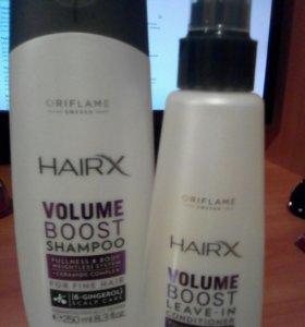 Шампунь и спрей кондиционер для волос.Орифлейм