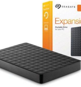 Внешний жёсткий диск Seagate 1tb новый
