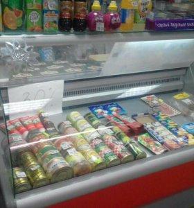 Холодильная витрина, стеллаж