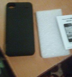 Чехол-зарядка 4000Mah Iphone 4,4S