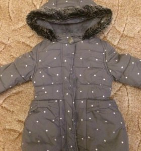Тёплая Куртка 92-98см