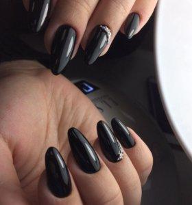 Маникюр гель-лак, выравнивание ногтевой пластины