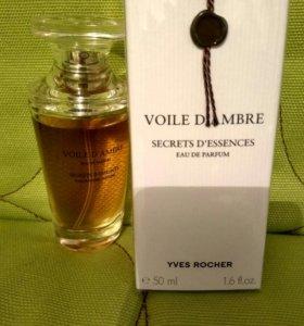 Амбровая вуаль,Yves Rocher, духи,.