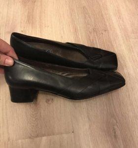Туфли,кожа 37,5₽