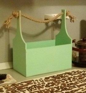Коробочки для цветов и мелочи