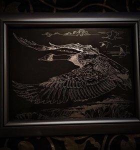 """Перелетные птицы"", картина"
