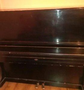 Пианино в нормальном состоянии