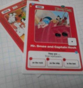 Карточки Disnep