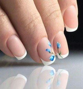 Гелирование ногтей