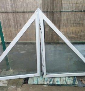 Стеклопакет треугольный