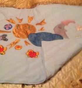 Одеяло детское ручной работы