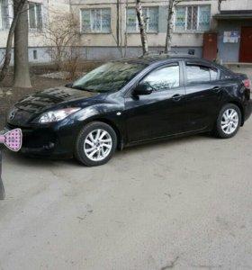 Автомобиль мазда 3 2012