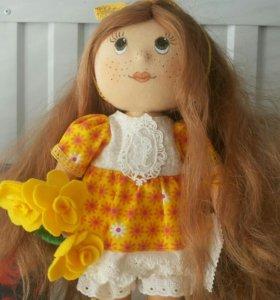 Кукла сувенир ручной работы.