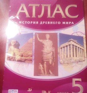 """Атлас """"История Древнего Мира"""" 5 Класс"""