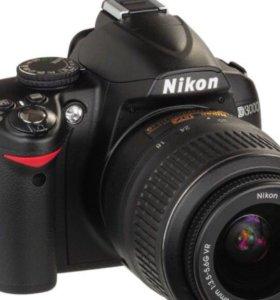Nikon D3000 / cумка DigiCase / Memory Card 16