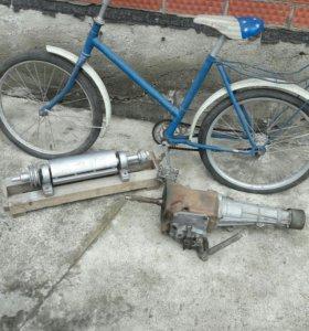 Велосипед вал столярный коробка моск.412 по