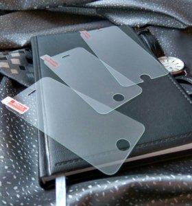 Защитные стёкла и на айфон 4,5,6