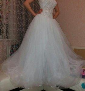 Свадебное платье 40-44р.