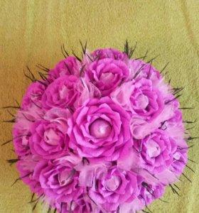 Букет сладких роз