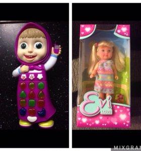 Пакет игрушек для девочки от 2 лет