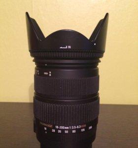 Sigma 18-200 для Canon