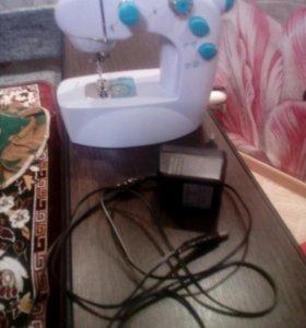 Мини швейная машинка электро и ручная