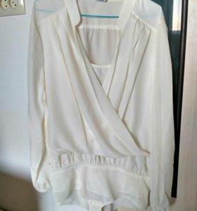 Блузка-боди новая