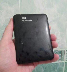"""2.5"""" Внешний 2 Тб HDD WD My Passport USB 3.0"""