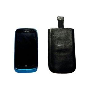 Nokia Lumia 610 + чехол