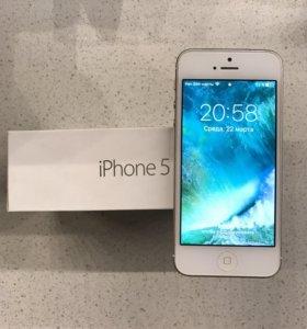 iPhone 5 на 64гб