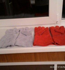 Перчатки сварочный