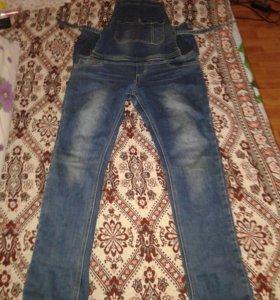 Комбез джинсовый для беременных