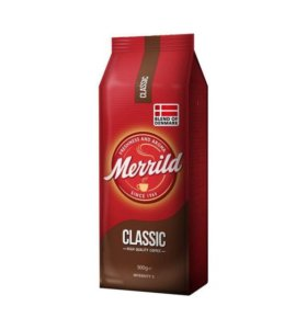 Молотый кофе Merrild Classic/500 г