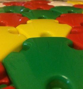 Развивающая игра для детей 2-8 лет. Мозаика.