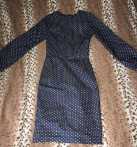 Джинсовое платье.Новое.Не угадала с размером.