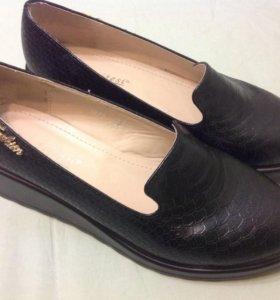 Туфли кожаные 38