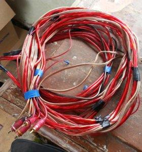 Усилитель с проводами
