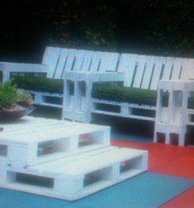 Мебель Лофт из паллет