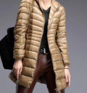 Продам новое пальто пуховик 42-44 размер S-M
